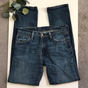 Mens Levi 504 Straight Leg Jeans